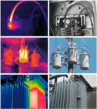 Виды тепловизионного обследования электротехнического оборудования
